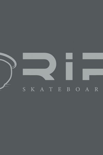 T-shirt RIP-Skateboards - Gris-Dark Grey